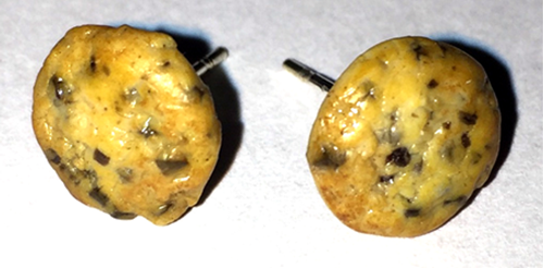 Picture of Chocolate Chip Cookie Earrings